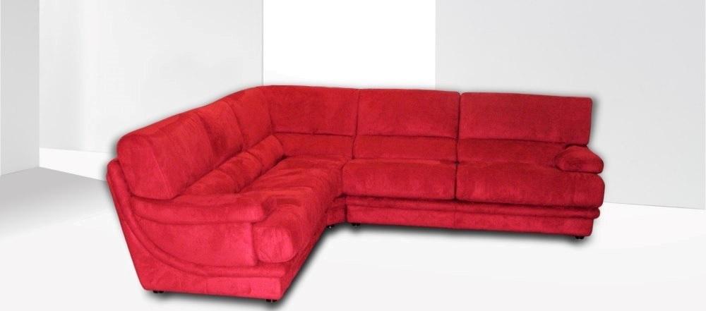 Divano Rosso Angolare.Divano Moderno Rosso Angolare